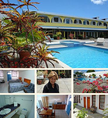 Sunshine Holiday Apartments, Tobago, W.I.